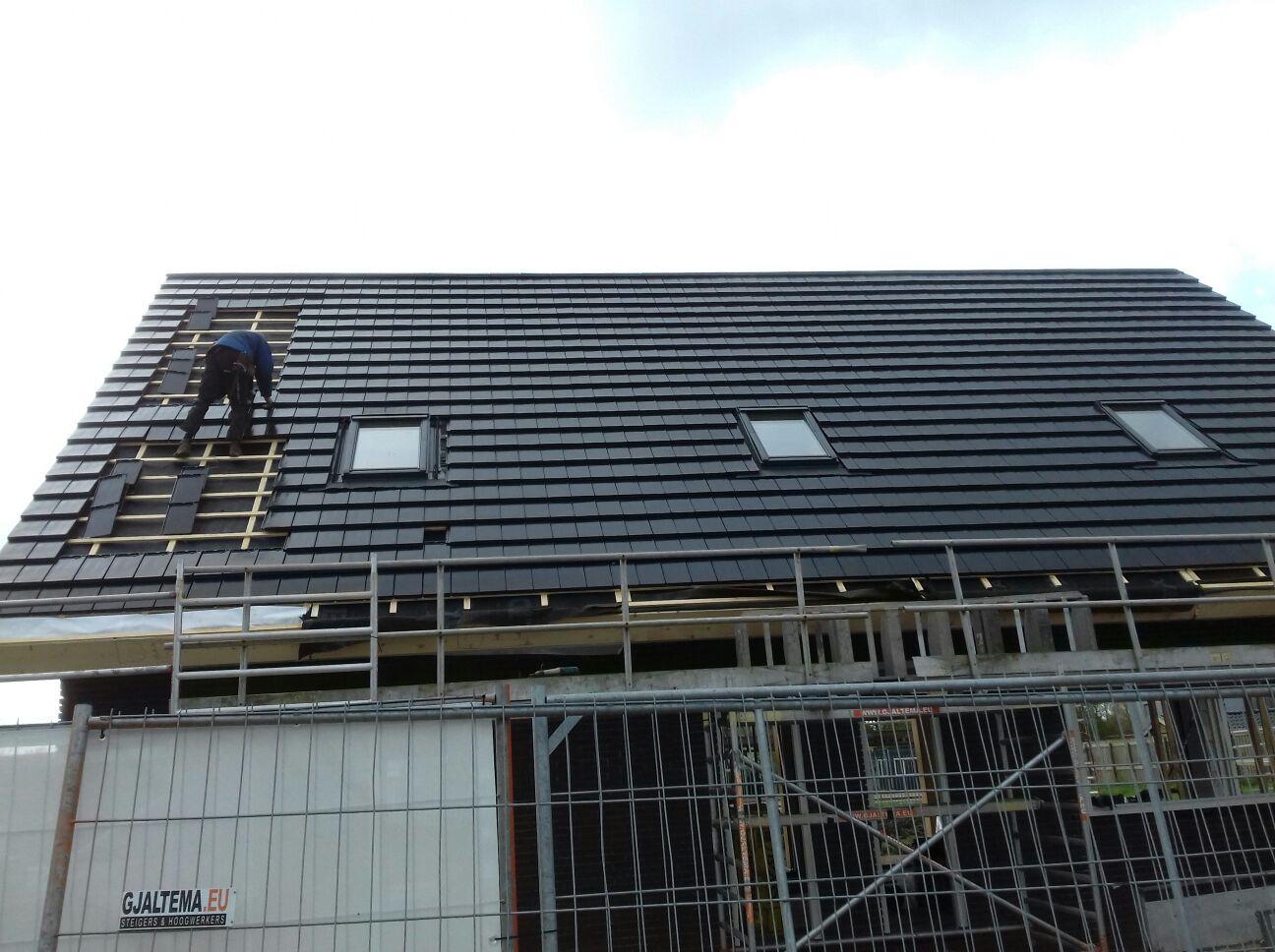 Nieuwbouw dakpannen PDK Kootstertille