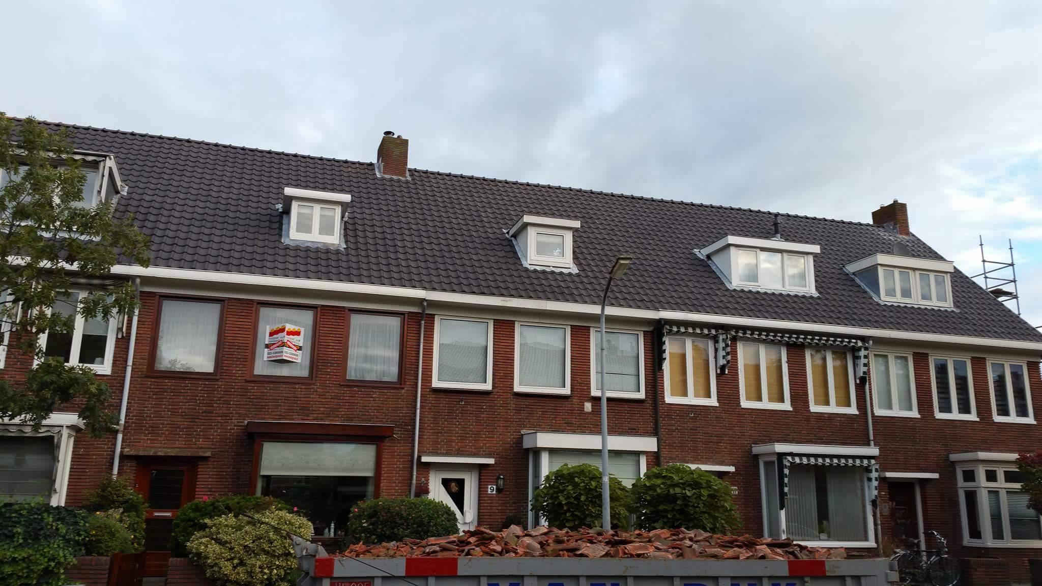 dakrenovatie Leeuwarden Nieuwe dakpannen PDK Kootstertille